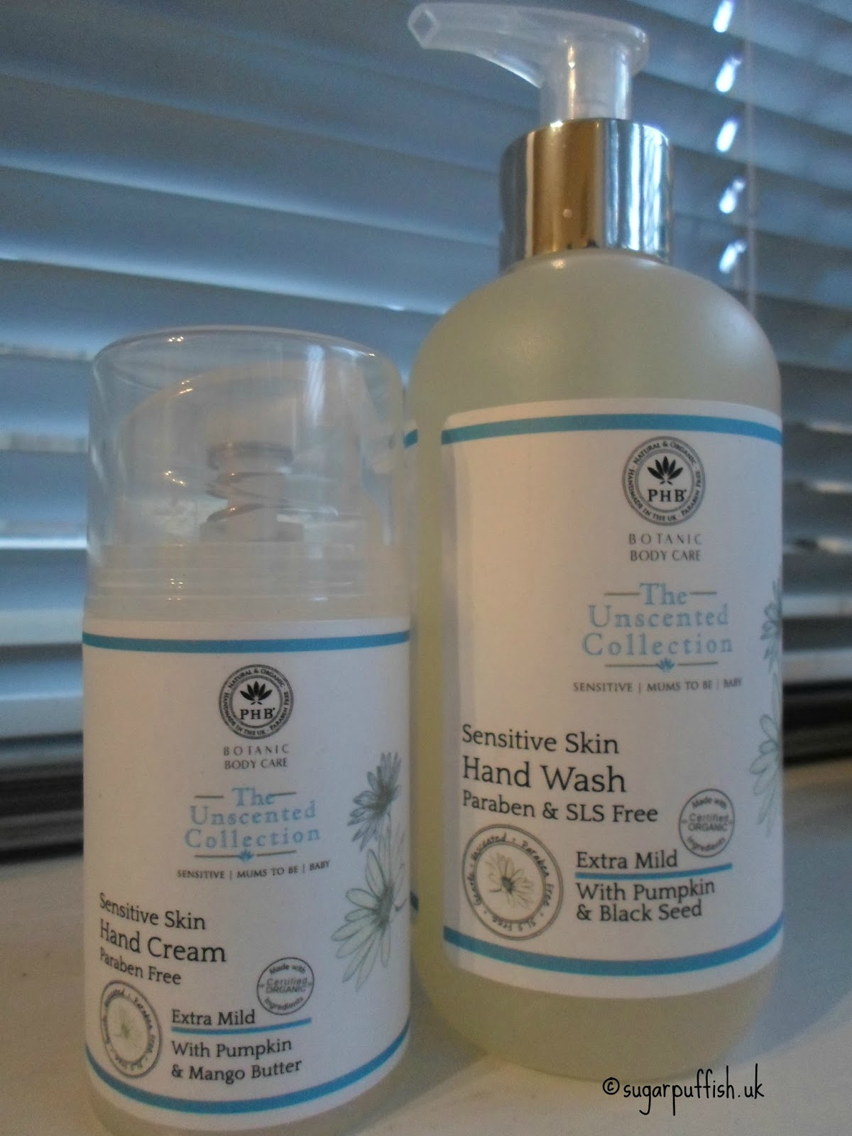 PHB Ethical Beauty The Unscented Collection Hand Cream & Hand Wash