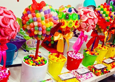 Fiesta Estilo Candy Party Una Decoracin Dulce Para Tus