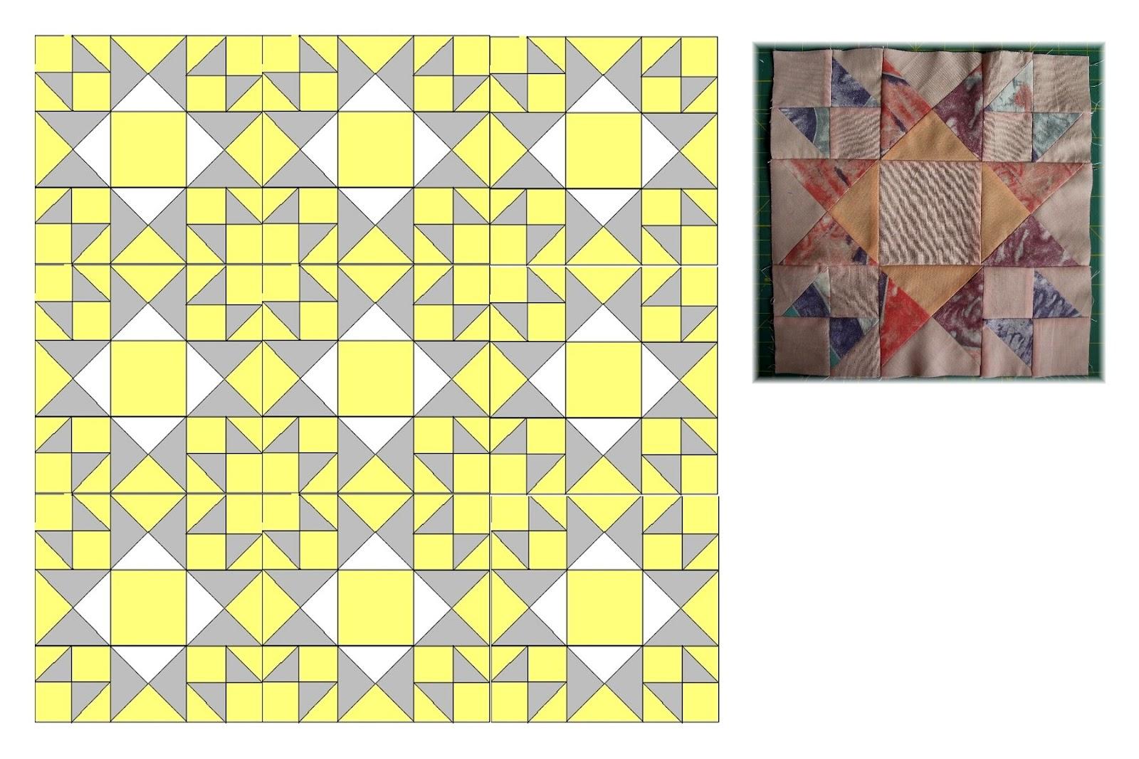 Mein Hobby - Nadelzauber: 9ner Block Muster XIII