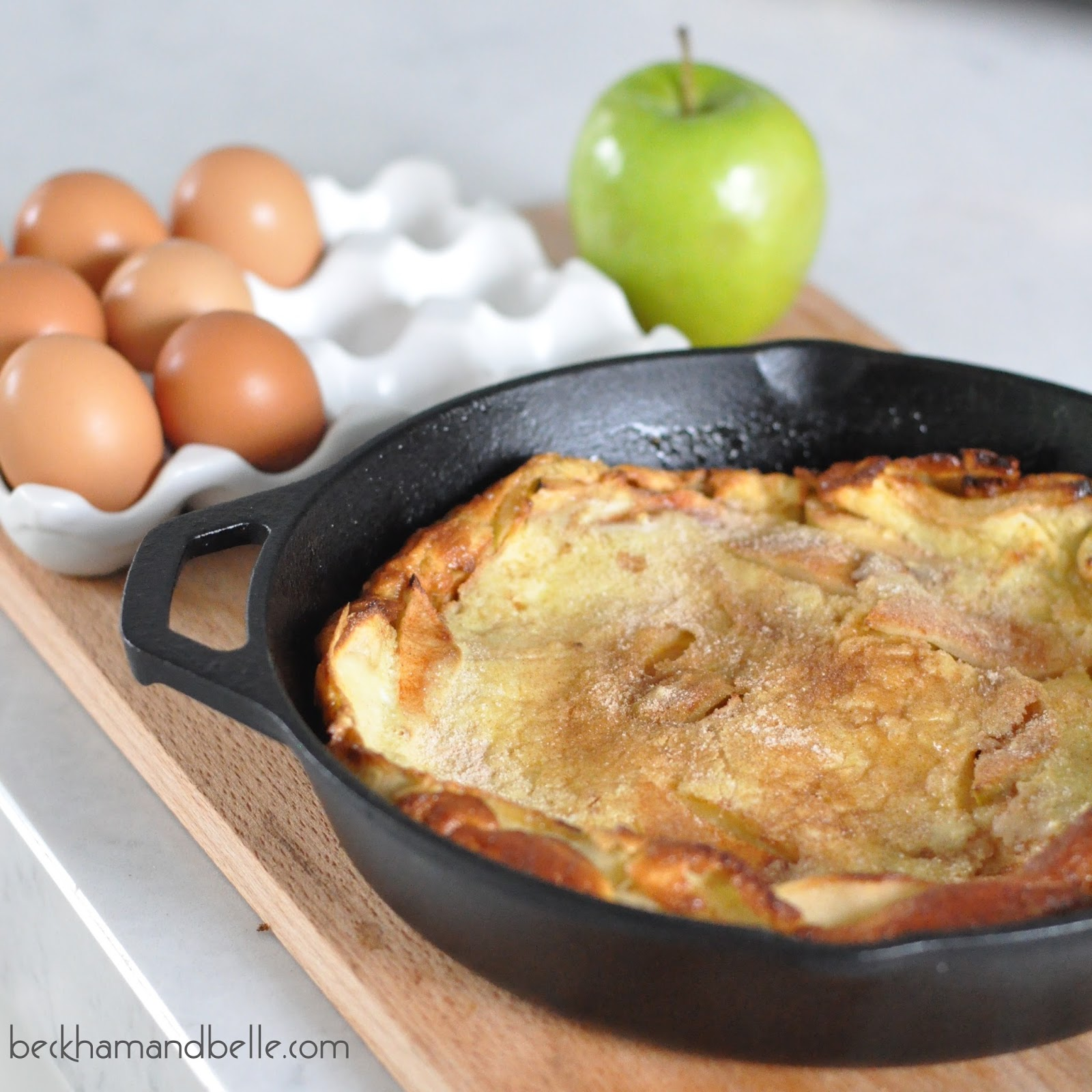 Dutch Apple Pancake, Variation of Dutch Baby