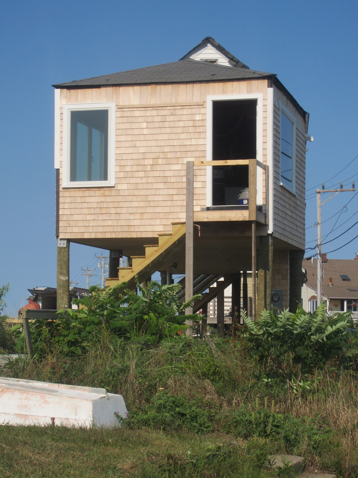 You can all go to hull check out this for Tiny house on stilts