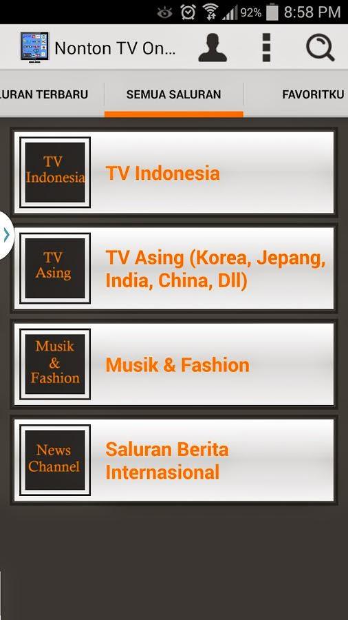 Download Aplikasi Nonton TV Online Android