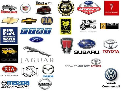 Red Automotive Logos Car logo pictures