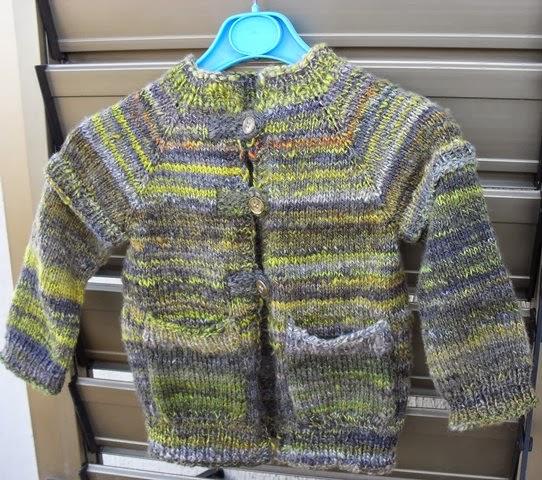 lavori fatti con la mia  lana, filata a mano