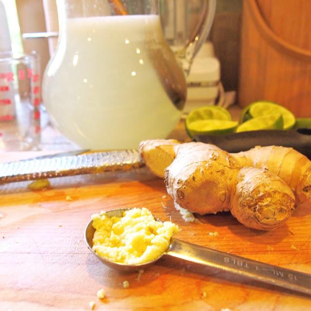 The Alchemist: Fresh Ginger Limeade