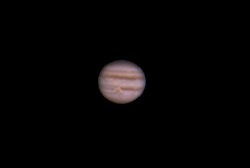 Jupiter imaged January 4, 2013