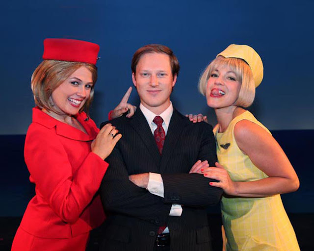 Boeing boeing a classic farce first staged in 1962 world for Farcical plot