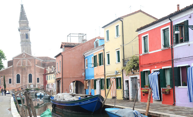Campanile - Eglise San Martino - Burano - Venise - Italie