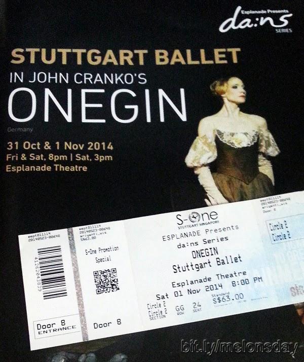 Onegin by Stuttgart Ballet