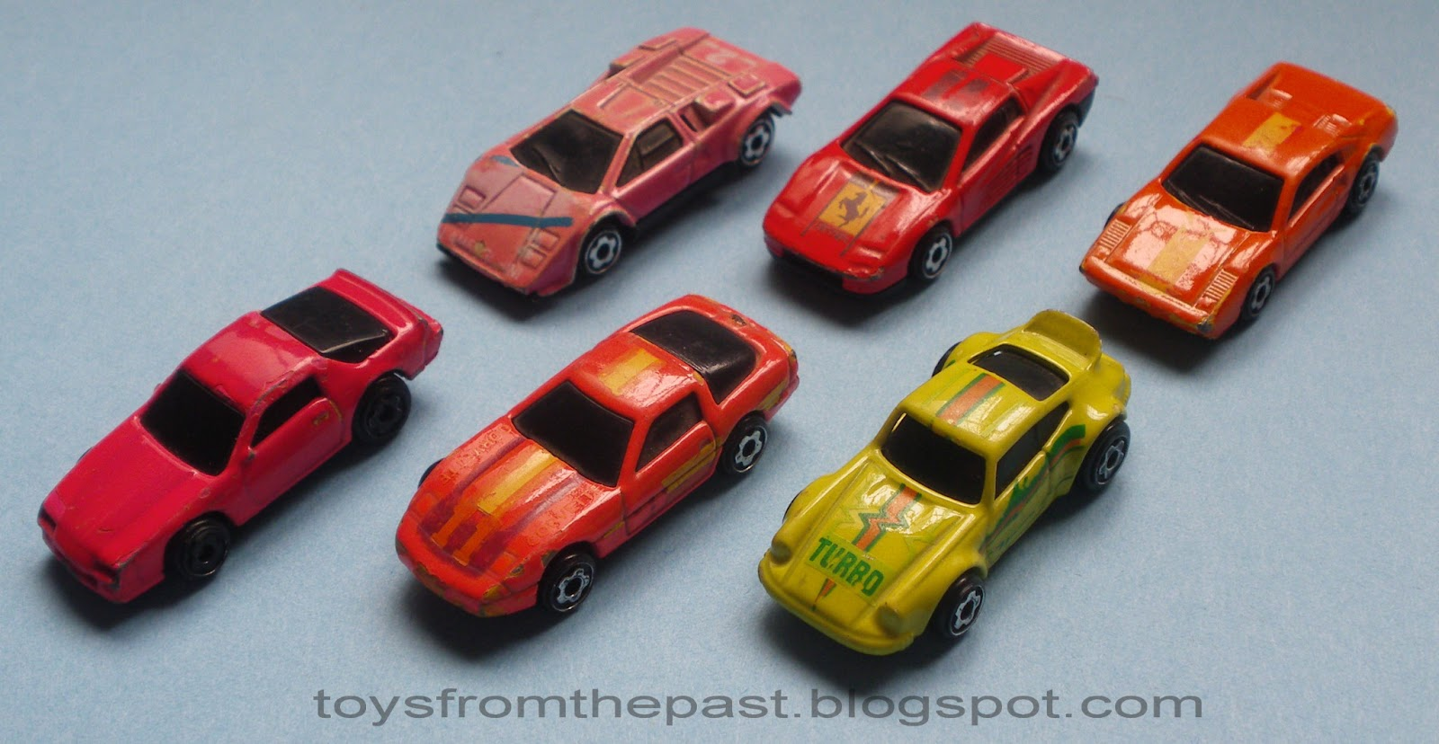 mini automagic micro color racers 1990