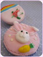 Cup cake Hias Fondant / Plastic Icing