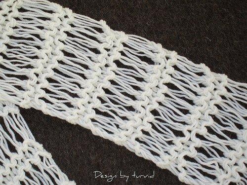 Knit Drop Stitch Shawl Pattern : draadjes en praatjes: Van luie wijven en een steekje (los)