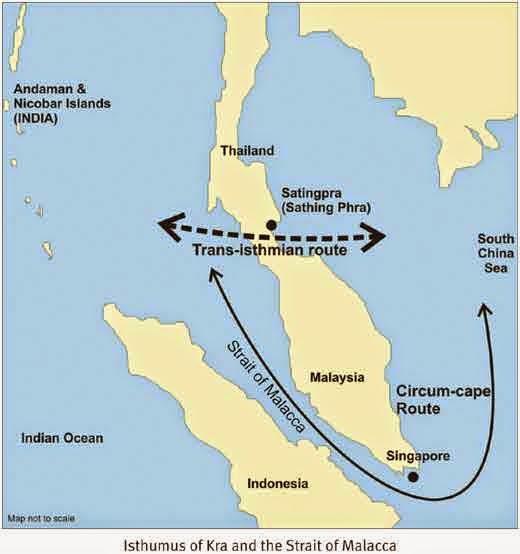 Rencana Pembangunan Kanal Kra Isthmus Mengancam Posisi Indonesia sebagai Poros Maritim