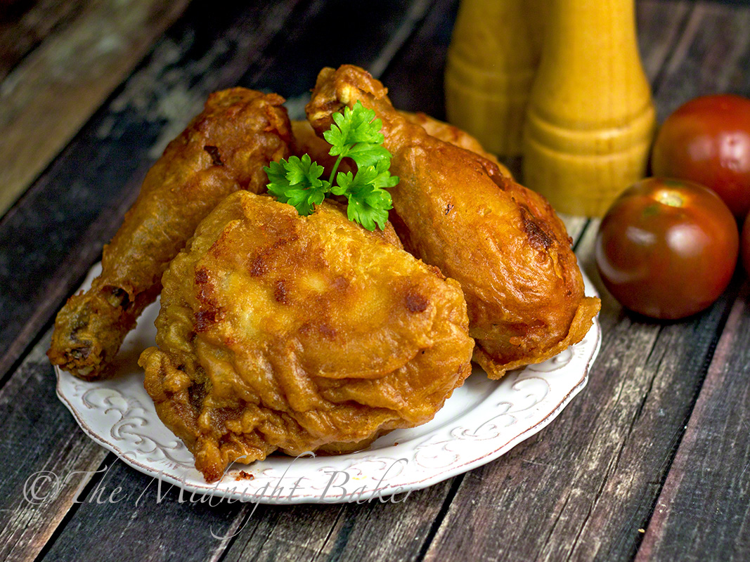 how to make fried chicken batter