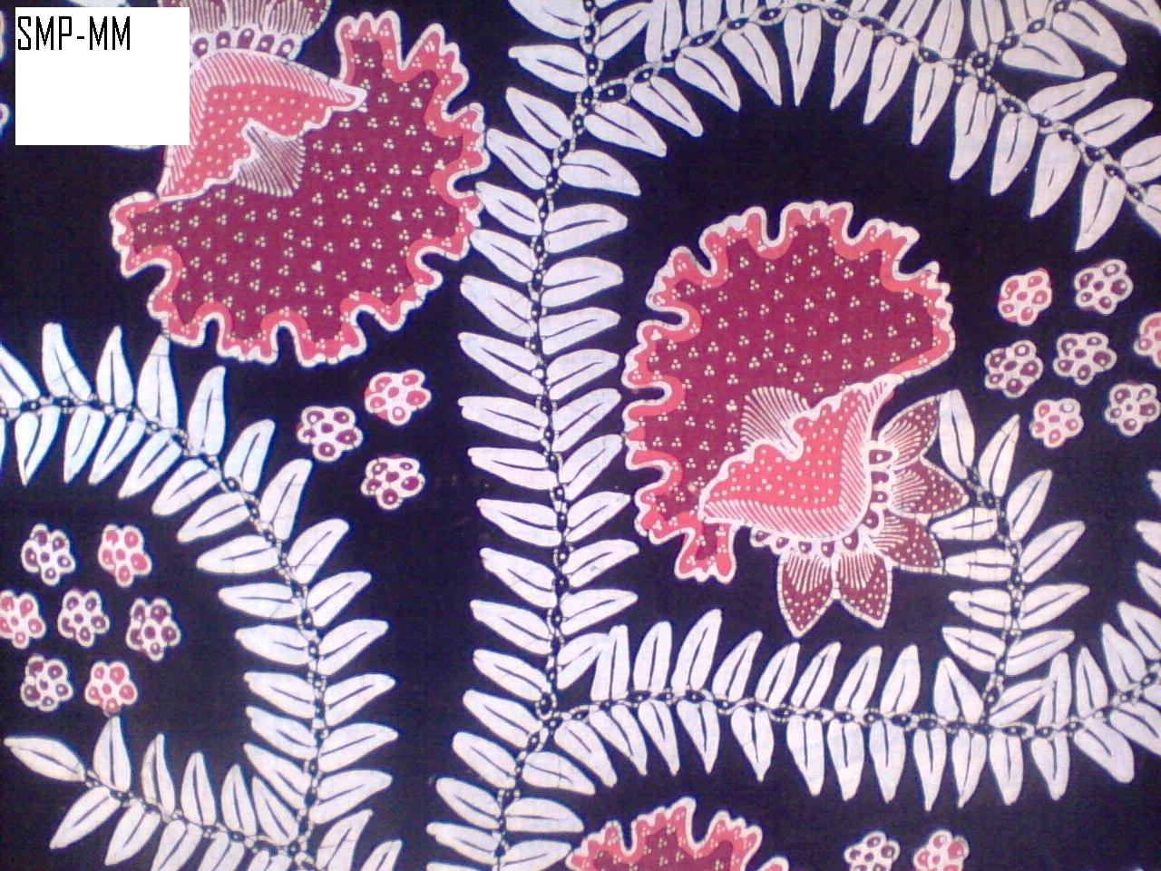 Batik Tulis halus motif bunga terompet ~ workshop batik maswita ...