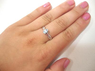 kohls blue ring
