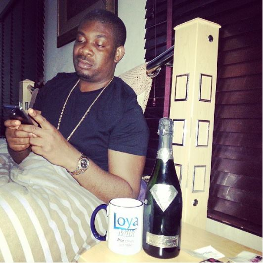 don jazzy world's most expensive wine