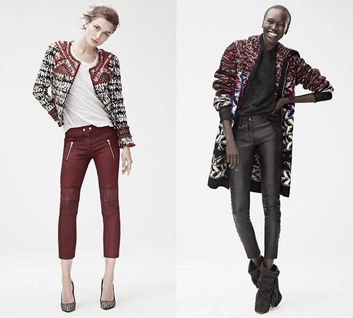 Isabel Marant pour H&M lookbook