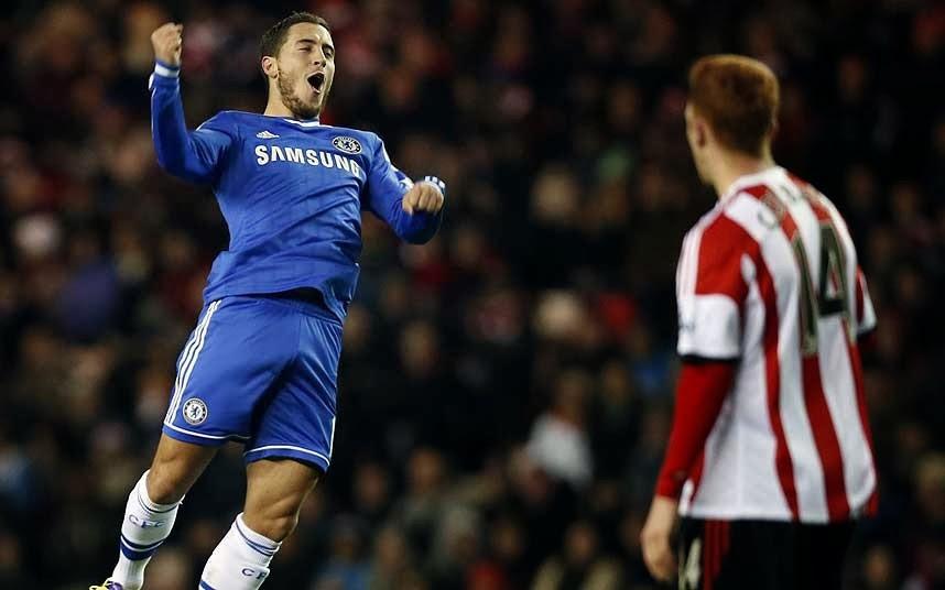 Ini Taktik Rahasia Chelsea Mengikat Eden Hazard