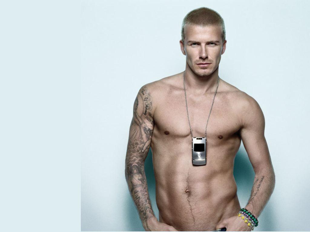 David Beckham Model