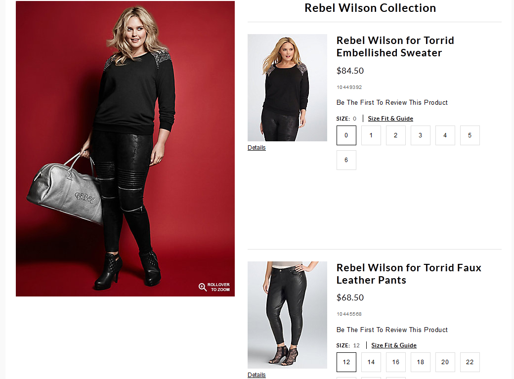 Style or Else : REBEL WILSON FOR TORRID [With Update]