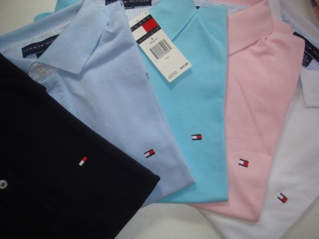 Bazar da Barganha  Camisas Gola Polo Tommy Hilfiger Várias Cores - R ... da6099abaae1d
