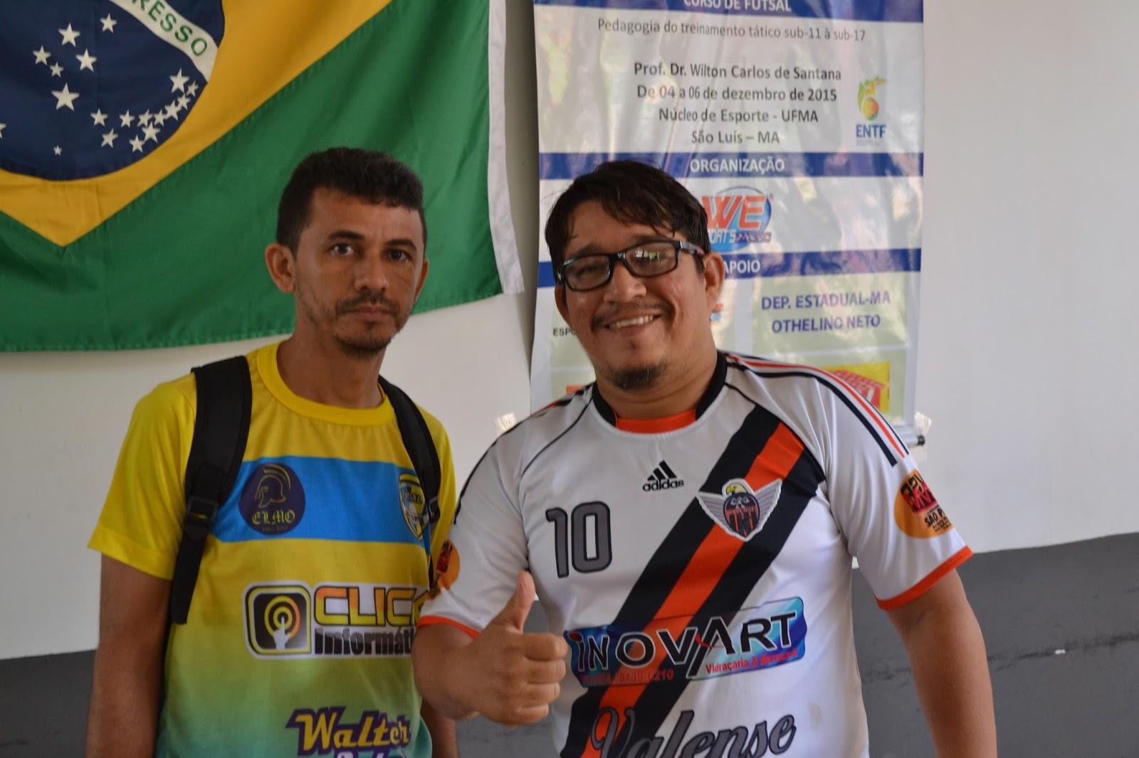 147a2471da Pedro e sua comissão técnica da escolinha Flacão 12.