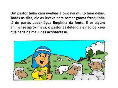 A ovelha perdida2 -amiguinhos de Jesus