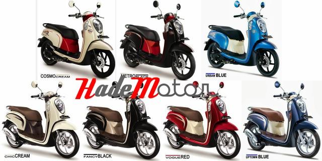 Spesifikasi Dan Harga Motor Honda Scoopy FI Terbaru