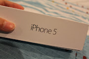 This, is my new white iPhone 5 box,