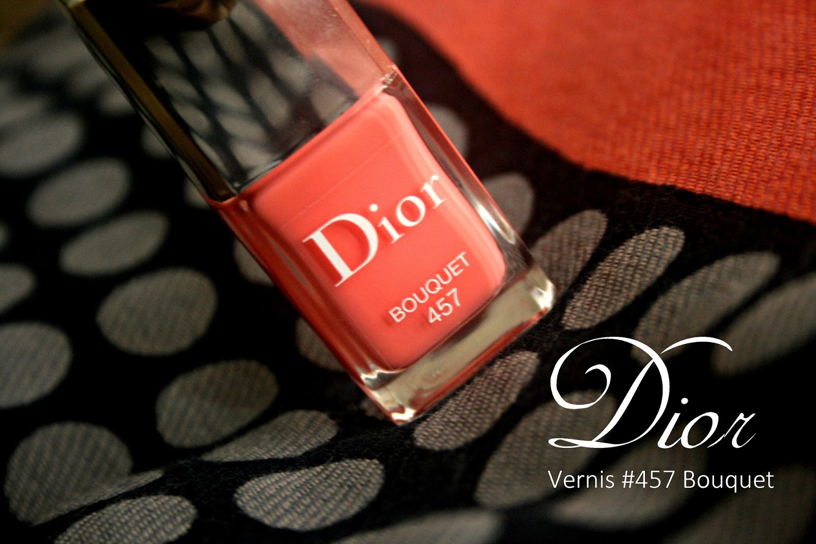 DIOR Vernis #457 Bouquet Trianon Spring 2014 Edition Review, Photos & Swatches