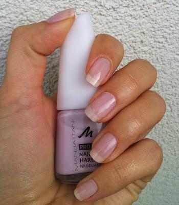 Manhattan Pro French Nailife Hardener 61G - lakier wzmacniający french manicure