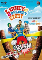 poster lucky di unlucky story