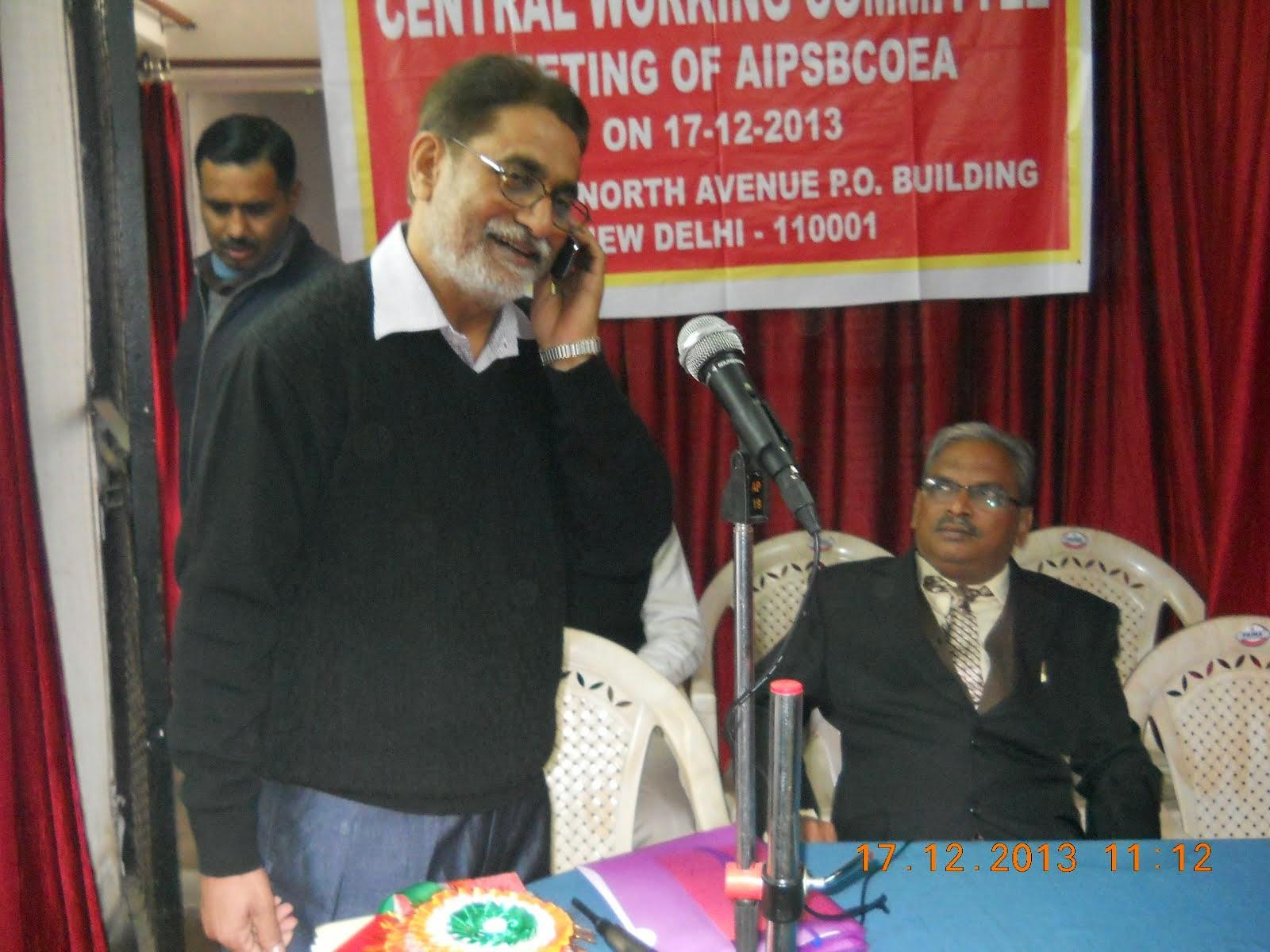 COM. Virendra Tiwari,General Secretary