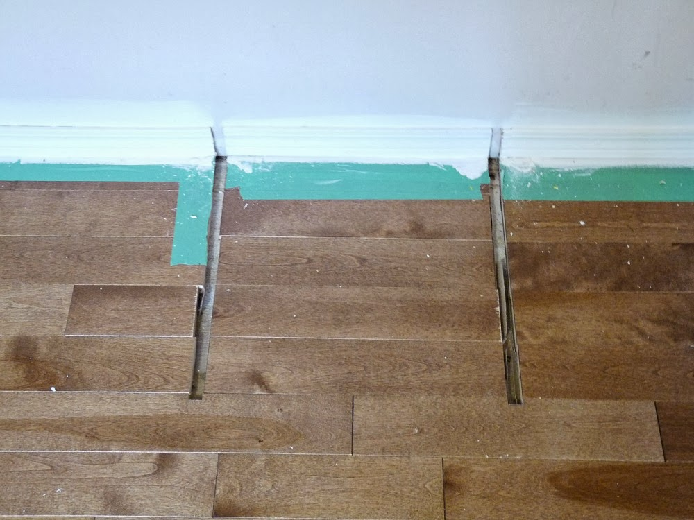 How to replace hardwood boards