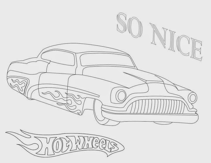 Hot Wheels Coloring Pages 54