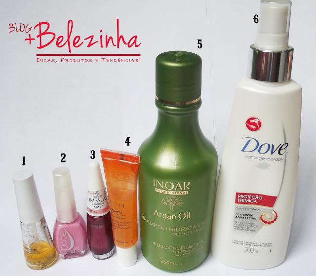produtos-favoritos-mais-usados-fevereiro-2013- dove-inoar-esmaltes