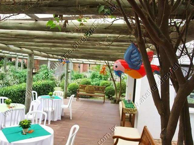 decoracao de festa infantil safari / floresta / selva
