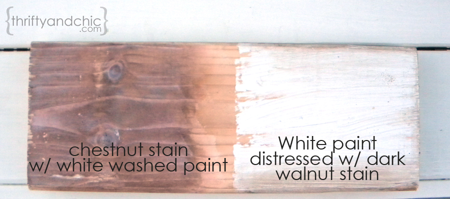 Make New Wood Look Old And Weathered