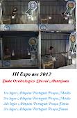 Arlequins premiados naIII Expo Ave 2012 COLA.