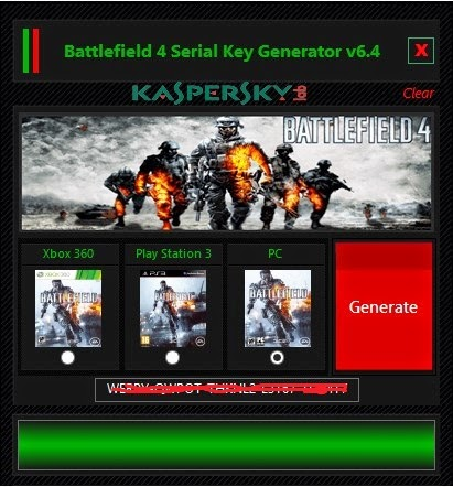 Battlefield 4 Cd Key Generator