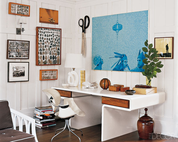 Decorative Home Office Interesting Source Desire To Inspire Front Hoz Crazy  Art Isiop Kelly Wearstler Elle