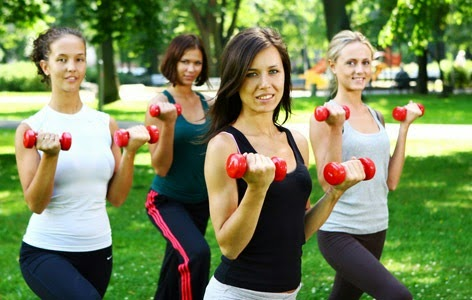 group fitness trainings