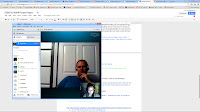 This is a screenshot of me using Skype with Paul Bedsole.