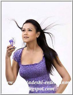 Bangladeshi model Airin Sultana