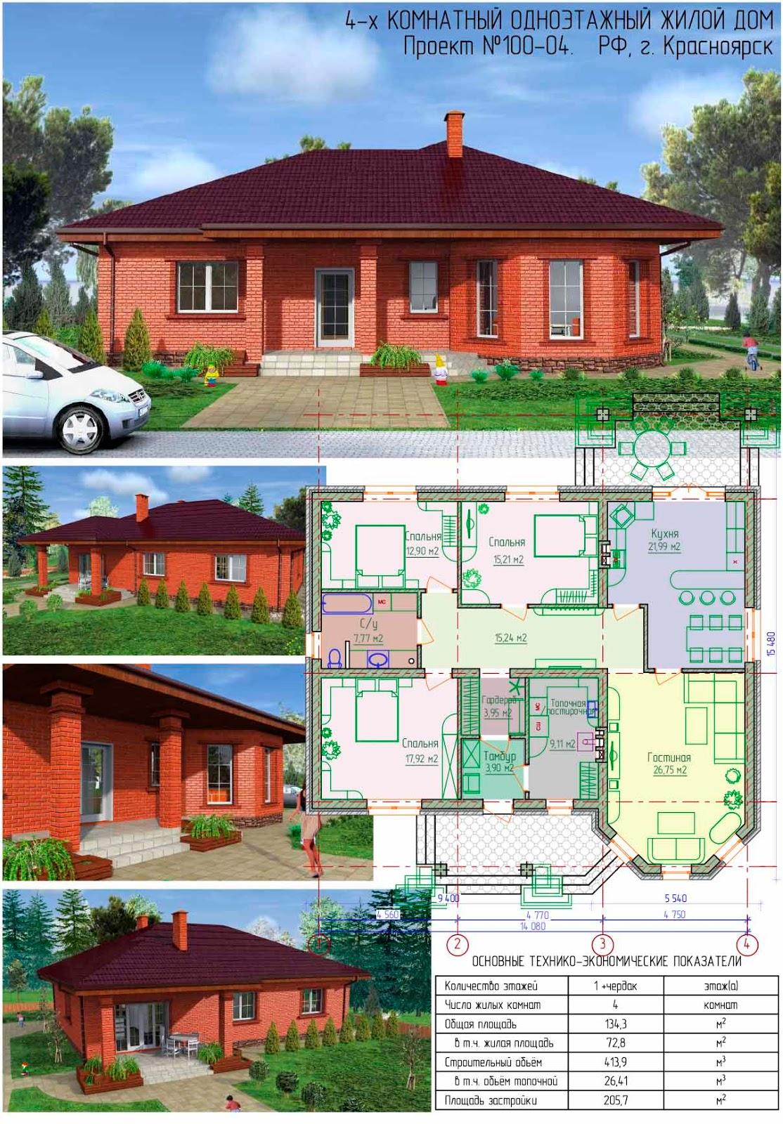 Проекты каркасных домов с мансардой - цены под ключ на