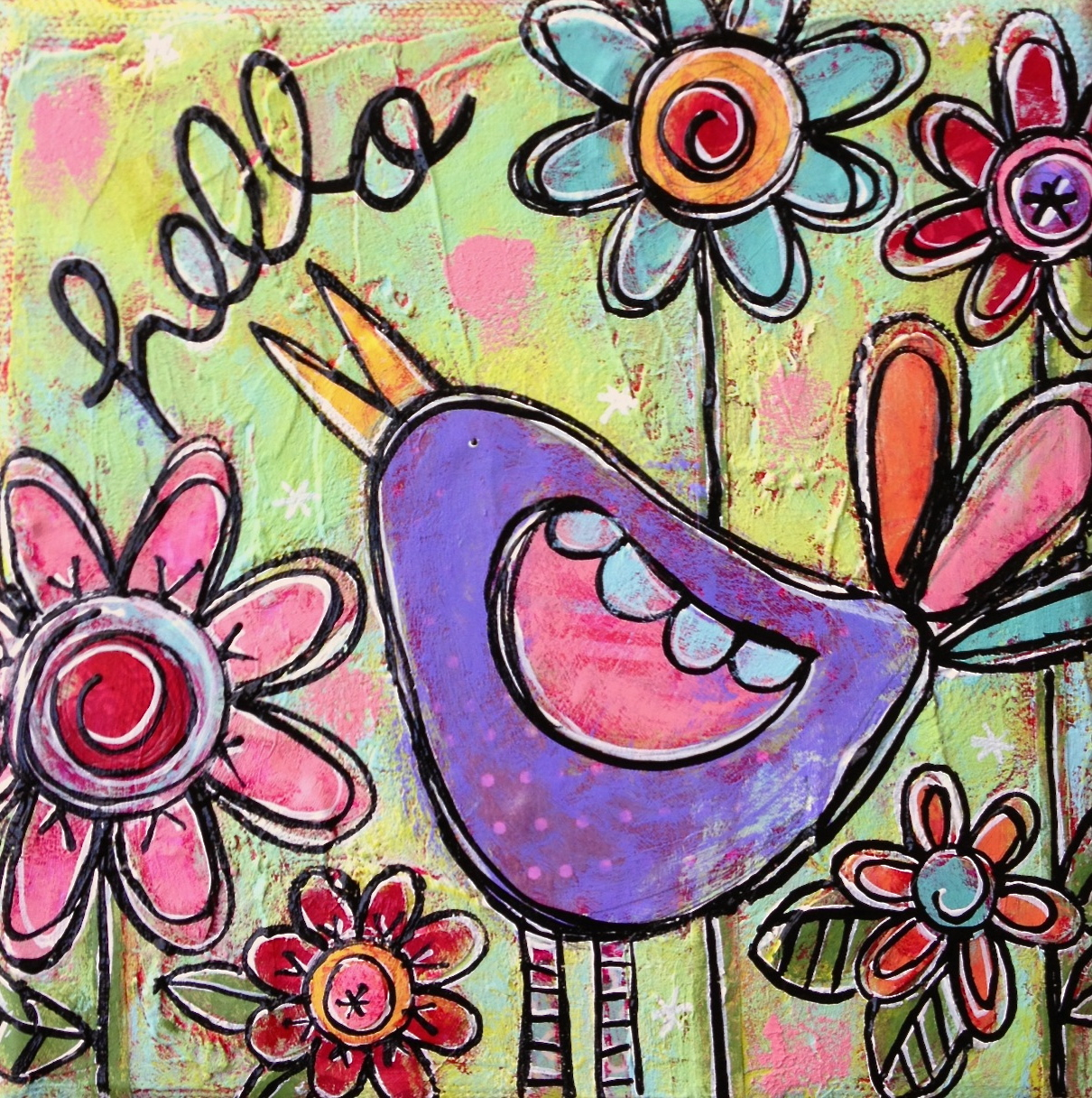 Hello Little Birdy! by Gina McKinnis