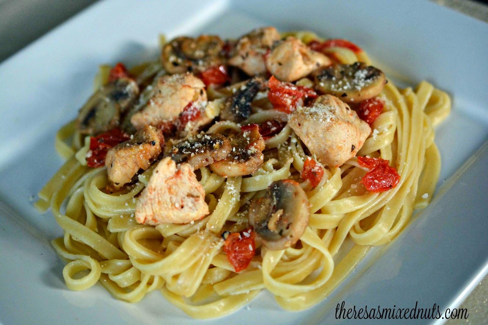 Chicken Herbs & Pasta