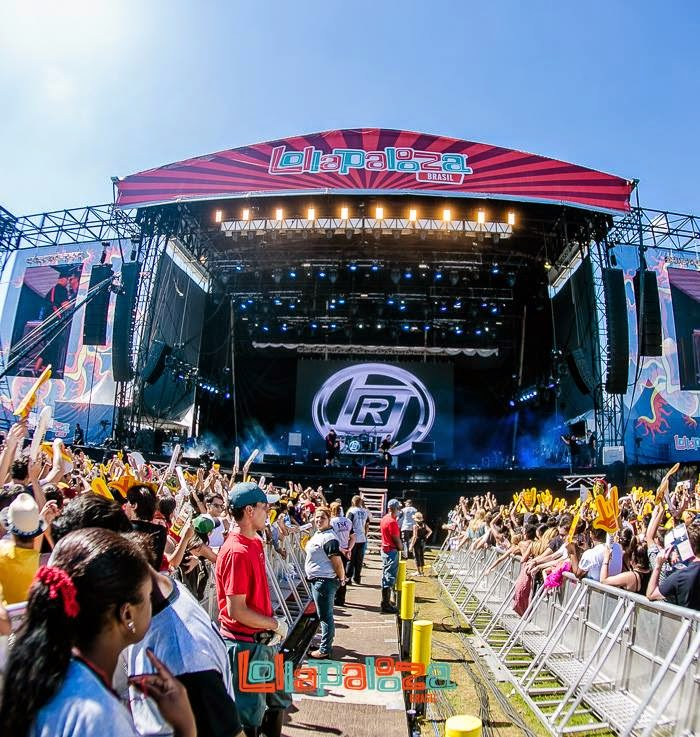 Raimundos na edição 2014 do Lollapalooza no Brasil