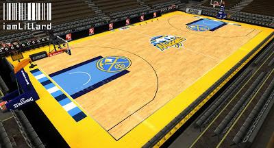 NBA 2K13 Pepsi Center Arena Court Update